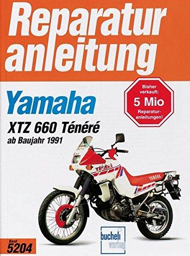 Yamaha XTZ 660 Ténéré ab Baujahr 1991 (Reparaturanleitungen)
