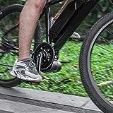T-Day Instrumento de Motor Central, Instrumento de Pantalla de Motor Central, 36V 350W Bicicleta eléctrica de accionamiento Medio Motor Central LCD XH-18 Kit de Conector de Instrumento de Pantalla