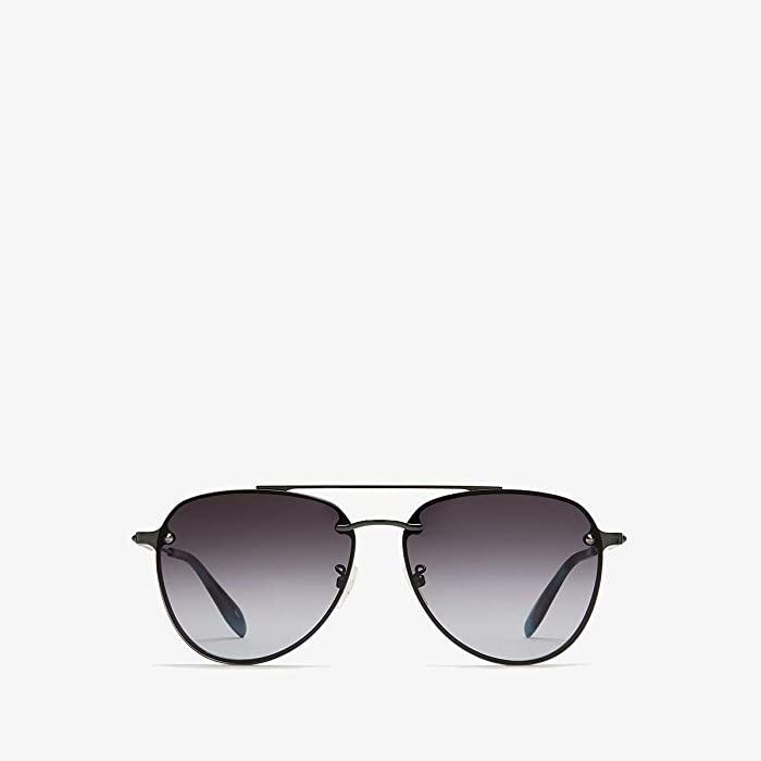 Alexander McQueen  AM0183SK (Ruthenium/Brown) Fashion Sunglasses