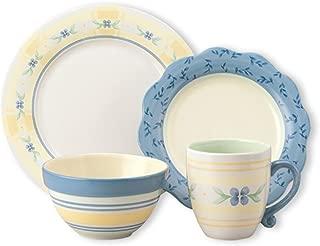 Pfaltzgraff Summer Breeze 16-Piece Stoneware Dinnerware Set, Service for 4