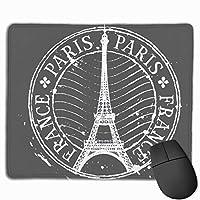 パリエッフェル塔 マウスパッド ノンスリップ 防水 高級感 習慣 パターン印刷 ゲーミング ホビー 事務 おしゃれ 学習