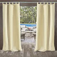 cortinas de exterior para jardín