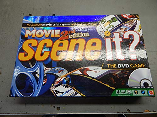 Scene It? Movies 2nd Edition by Mattel