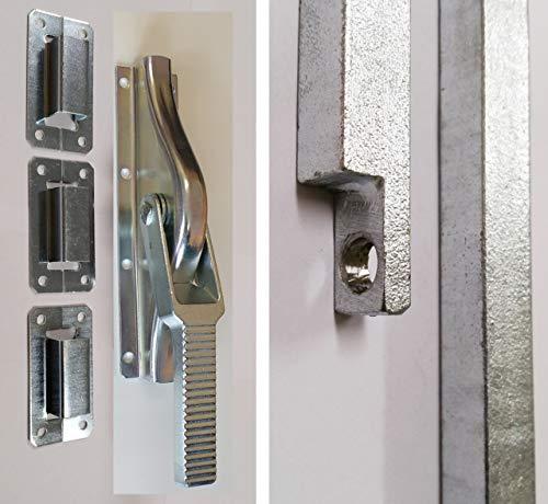 Tortreibriegel Strenger TTR13-307 Excelsior 13x13mm mit Stangen für Torhöhe bis 307 cm