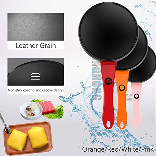 600W 220V Electric Crepe 18cm Non Pancake Baking Pan Frying Griddle Machine Cooking Appliance