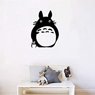 Removable Vinyl Mural Decal Quotes Art Wall Decal Cartoon Animal Wall Sticker My Neighbor Totoro Decor for Kids Room Removable Art