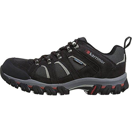 Karrimor Bodmin IV Weathertite, Men's Low Rise Hiking Shoes, Grey (Black Sea), 11 UK (45 EU)