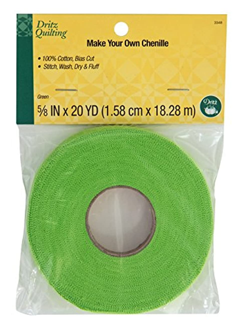 Dritz Quilting 3348 Make Your Own Chenille, 20-Yards, Green