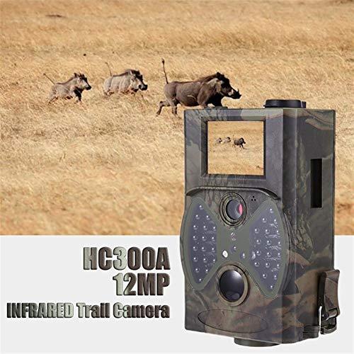 WANGMEILING Jagdkamera wildkamera HC300M HT001B HC801A HC801LTE 4G-Jagd-Kamera 12MP 940nm Nachtsicht MMS GPRS Foto Traps Trail Kamera Dropship (Color : 300a)