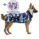Recovery Suit Hund, Kleidung für Genesung nach der Operation E-Kragen Alternative für Hunde...