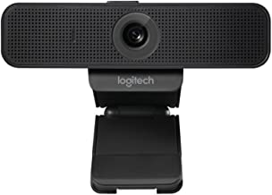 Logitech 960-001075 Webcam C925E with HD Video and Built-In Stereo Microphones,Black