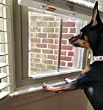 Clear Pet Window Sill Protector - Guards Against Dog Claws (29.5 inch Long x 3.25 inch DEEP)