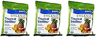 Organic HerbaLozenge Tropical Zand 18 Lozenge