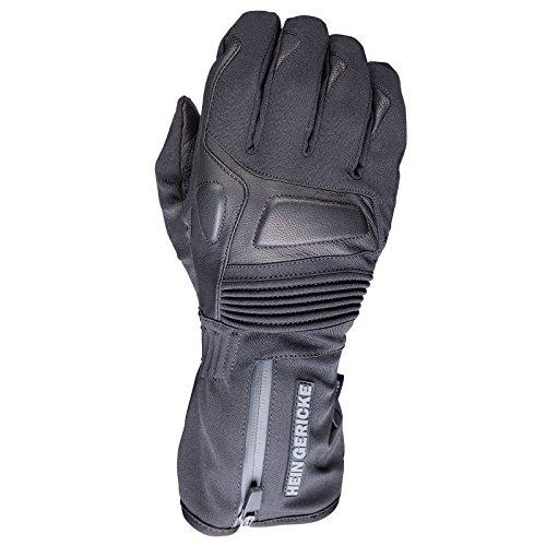 Hein Gericke Glan sheltex® Handschuh schwarz M - Motorradhandschuhe