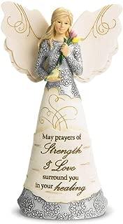 Pavilion Gift Company 82348 Strength and Healing Angel Figurine, 6-1/2-Inch
