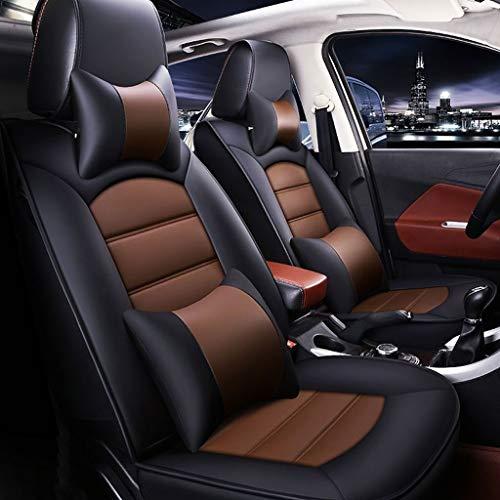 Autostoelhoes voor autostoel, kussensloop, toegewijde luxe versie van autostoelhoes, zevenzits All-inclusive kussenleren stoelhoes. B