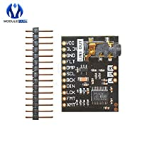 For Raspberry Pi pHAT Sound Card I2S IIC Interface Module PCM5102 Module Audio Board With Stereo Jack Beyond ES9023 PCM1794A DAC
