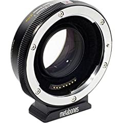 Cameras with electric mount Canon EF Converter Material properties: The camera side, as well as lens on top of all of this the adapter made of chrome-plated brass accurate build satin surface, more precise fit 1x Converter