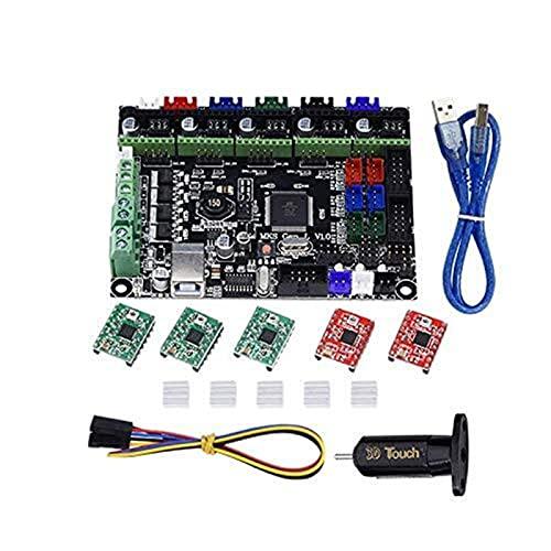 Auoeer 3D Printer Kit MKS GEN L Integrated Mainboard A4988 Driver+3D Contact BLContact Sensor for TEVO Tarantula Tornado 3D Printer DIY Parts