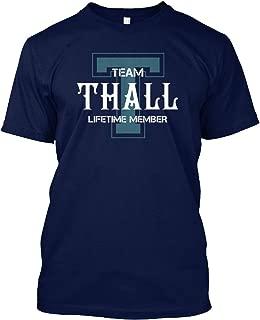 Team thall Lifetime Member Tshirt - Hanes Tagless Tee