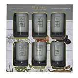 Bellevue 6-Piece Luxury Candle Set 5oz. Soy Blend Scented Candles Infused with Essential Oils - Retail $100+!!!