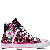 Converse - Zapatillas para niño Neon/Floral, Color, Talla 4 UK