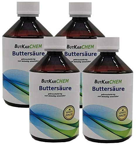 ButKarCHEM 2000ml Buttersäure 24h SOFORT Versand Gebrauchsfertig von Karbid 24 (Varianten 500ml-11Ltr)(Artnr42605334) (2000ml)