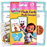 Butterbeans Educational Flash Cards and Games for Kids Bundle Includes GWW Reward Stickers (Math Flash Cards)