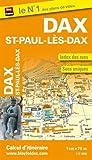 Plan de Dax et de Saint-Paul-Lès-Dax (Echelle : 1/7 500)