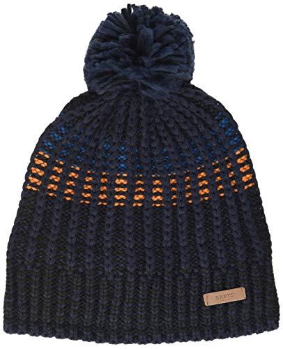Barts Herren Brehan Beanie Baskenmütze, Blau (Navy 0003), One Size (Herstellergröße: Uni)