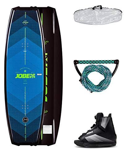 Jobe Logo Wakeboard & Maze Bindings Package: la Series Logotipos es la Tabla Intermedia Conduce detrás del Barco