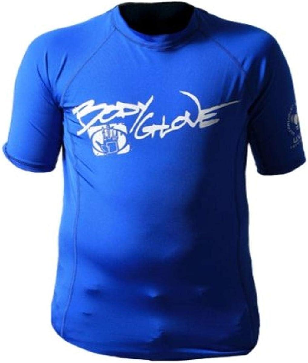 Body Glove Basic Deluxe Junior's Short Sleeve Lycra Rashguard Shirt