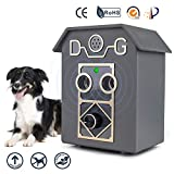 Anti Barking Device, Dog Bark Stopper, Rechargeable Stop Dog Barking Device,Waterproof Dog Barking