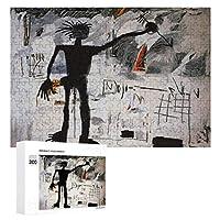 300ピース ジグソーパズル パズル 木製パズル 飾り画 バスキア 6 参考図付き 減圧玩具 頭脳練習 創造力 知育 子供 大人 ギフト プレゼント puzzle