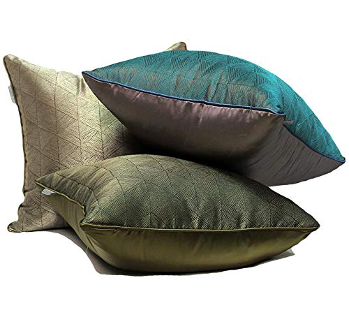 Feltedes Modern new Chinese style French model room pillow sofa cushion cushion high precision embroidery square pillow 45X45cm with core