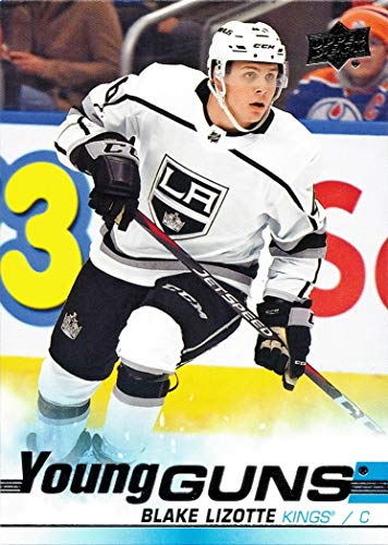 2019-20 Upper Deck Hockey #202 Blake Lizotte Rookie Card Young Guns
