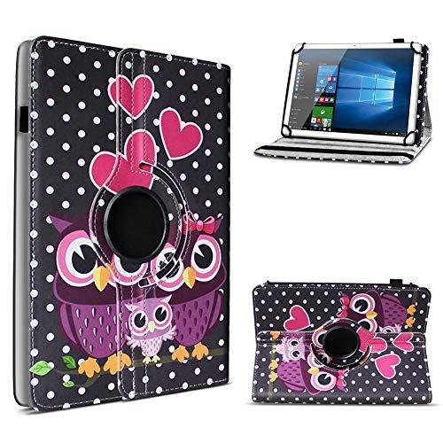 UC-Express Tablet Hülle kompatibel für Telekom Puls Tasche Schutzhülle Hülle Schutz Cover 360° Drehbar, Farben:Motiv 3