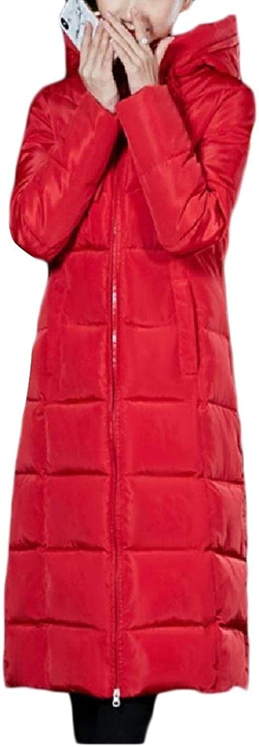 Doufine Women Fashion Puffer Quilted Jacket Overcoat Packable Down Parka
