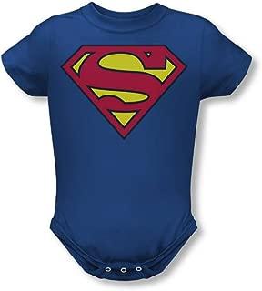 Superman Classic Shield Infant One-Piece Snapsuit