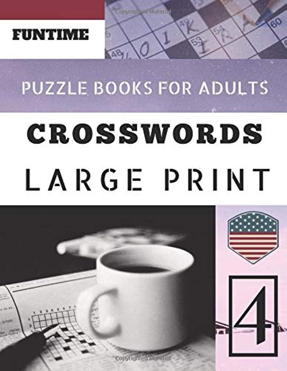 想起有能な谷Crossword puzzle books for adults large print: Funtime 50 Large Print Crosswords Puzzles to Keep you Entertained for Hours (Telegraph Daily mail Quick Crossword Puzzle)