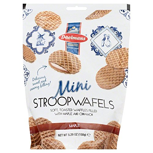 Daelmans Stroopwafel Minis, Chocolate-Caramel, 5.29 oz