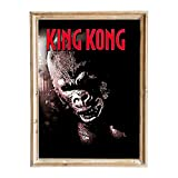 FANART369 King Kong #2 Poster A3 Größe Filmposter