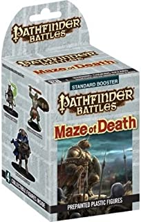 Pathfinder Battles Maze of Death miniatures booster box (4 painted minis) WZK73036
