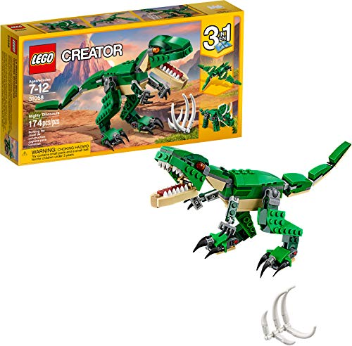 LEGO Creator Mighty Dinosaurs 31058 Build It Yourself...