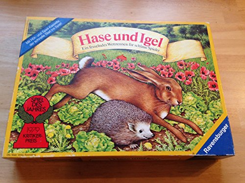 Ravensburger 010318 - Hase und Igel - Ein fesselndes Wettrennen für schlaue Spieler.