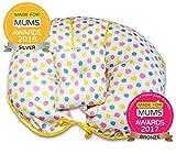 Almohada de lactancia exclusiva de algodón 4 en 1 con mini almohada y arnés de...