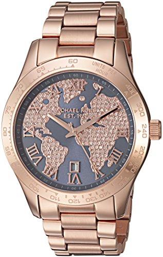 Michael Kors Women's Layton Rose Gold-Tone Watch MK6395
