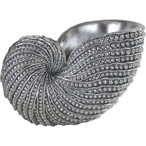 Casablanca - Schale/Sektkühler Muschel aus Poly - Silber