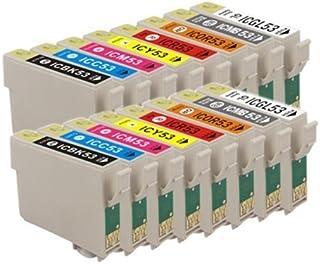 ULMAX JAPAN EPSON(エプソン) 互換インクカートリッジ (BK/MB/C/M/Y/R/BL/GL) IC8CL53 (8色セットx2)