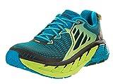 HOKA ONE ONE Men's Gaviota Stability Shoe (8, Bright Green/Blue)